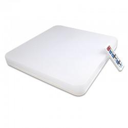 Plafoniera LED SMD 18W, senzor miscare, telecomanda, temporizator, lumina neutra, IP54