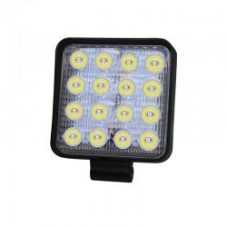 Proiector LED SMD 48W, auto offroad, 12/24V, 4800 lumeni, carcasa aluminiu, IP67