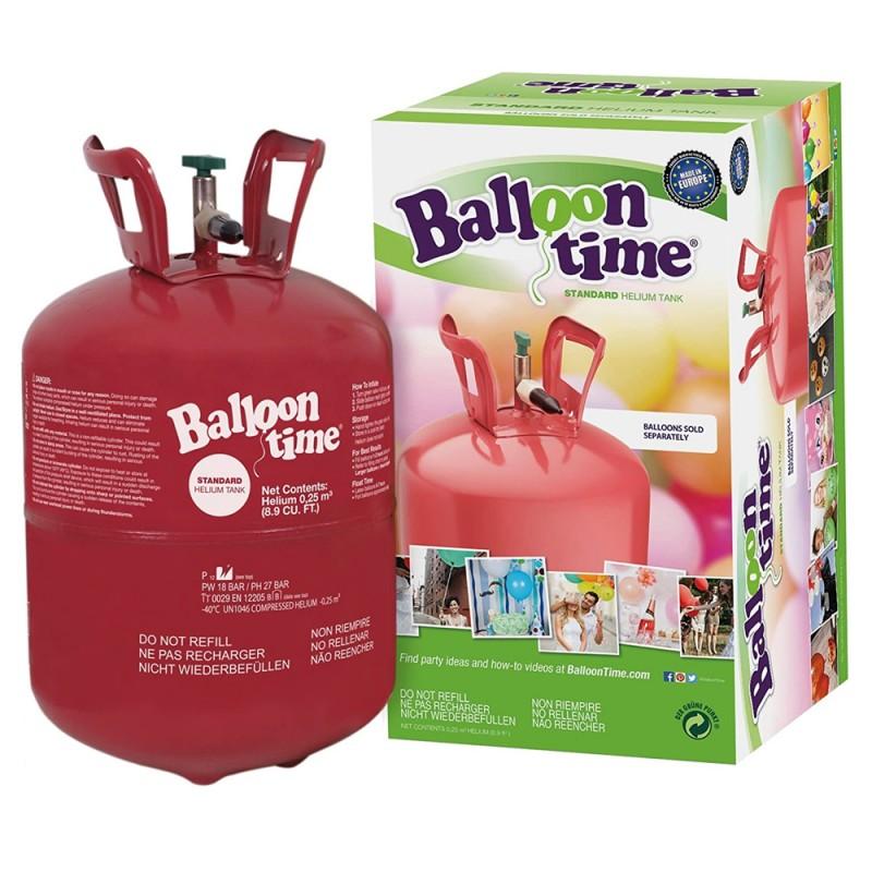 Butelie cu heliu 12.1 L pentru umflarea baloanelor, presiune 18 bar