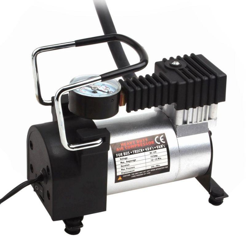 Compresor auto 150w, alimentare 12V, 150 PSI, 27 L/min