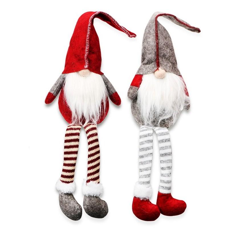 Elf de jucarie, inaltime 50 cm, decoratiune Craciun, design hazliu