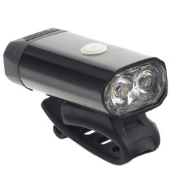 Far LED 5W pentru bicicleta, reincarcabil USB 1050 mAh, 8 moduri iluminare, carcasa aluminiu