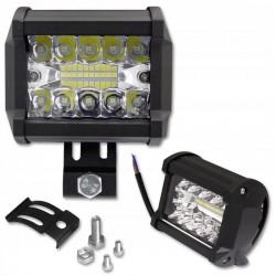 Proiector LED EPISTAR 60W, auto offroad, 10-30V DC, unghi 60 grade, IP67, carcasa aluminiu, 4800lm