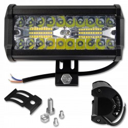Proiector LED 120W offroad, 40 LED-uri EPISTAR, unghi 60 grade, aluminiu
