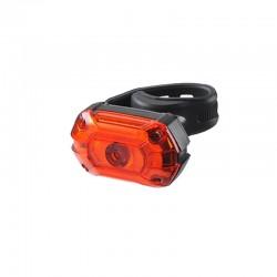 Stop LED bicicleta, reincarcabil USB 700 mAh, 25 lm, 3 moduri iluminare, IPX4