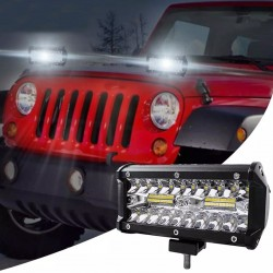 Proiector LED 120W offroad,...