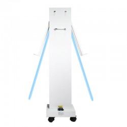 Lampa bactericida UVC 300W, portabila, temporizator, telecomanda, sterilizare 360 grade