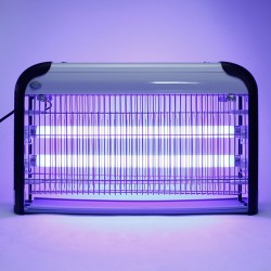 Aparat UV profesional anti-insecte, 2x15W, 80 mp, pentru interior, Sanico