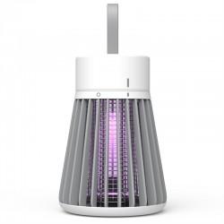 Lampa UV anti-insecte portabila, 1.2W, reincarcabila USB, 1200mAh, curea suspendare