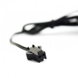 Invertor fir El-Wire 0-40 metri cu 3 moduri iluminare, alimentare retea