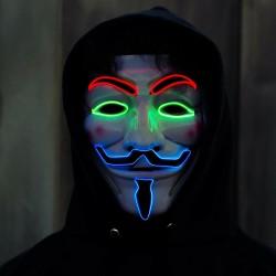 Masca Anonymous luminoasa,...
