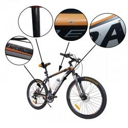 Bicicleta MalTrack Team, 18 viteze, 26 inch, pinioane Shimano, bidon apa resigilata