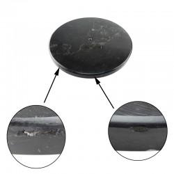 Cuier metalic cu baza rotunda din marmura, 179 cm inaltime, suport umbrele, 16 brate, Resigilat