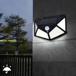 Aplica solara 100 LED-uri,...