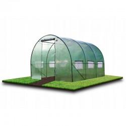Solar, tip tunel, 3.5x2x2 m, folie PE 140g/mp, ferestre laterale, usa, cadru metal