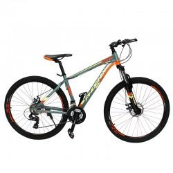 Bicicleta MTB roti 27.5 inch, 24 viteze schimbator Shimano, frane pe disc, cadru aluminiu, Phoenix
