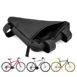 Borseta bicicleta, triunghiulara, 1 compartiment, inchidere fermoar, material impermeabil