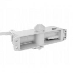 Amortizor hidraulic pentru usa, maxim 60 kg, reglare dubla, universal, aluminiu