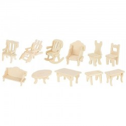 Set 34 piese mobilier din...