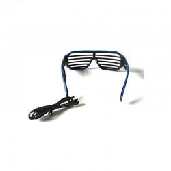 Ochelari Shutter, fir El Wire, invertor, 3 moduri iluminare in 2 culori