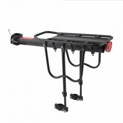 Portbagaj bicicleta, universal, sustinere triunghiulara, margini protectie
