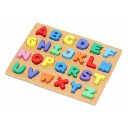 Puzzle Alfabet din lemn, 26...
