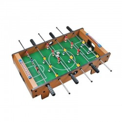 Masa de fotbal cu 18 jucatori, 2 persoane, din lemn, varsta 3+