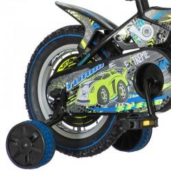 Bicicleta 16 inch, frana V-Brake mecanica, roti ajutatoare detasabile, Turbo