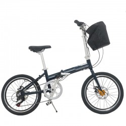 Bicicleta pliabila, roti 20 inch, cadru otel, 7 viteze Shimano, frane pe disc, Phoenix Lincoln