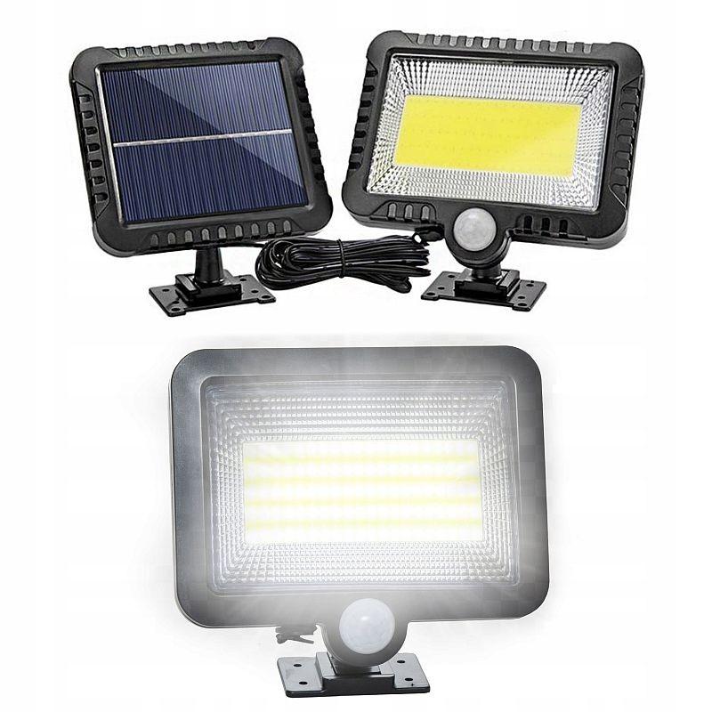 Reflector solar 100 LED-uri, senzor de miscare raza 5 m, IP65