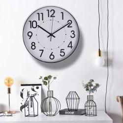Ceas de perete, stil clasic, 30 cm, afisaj analog