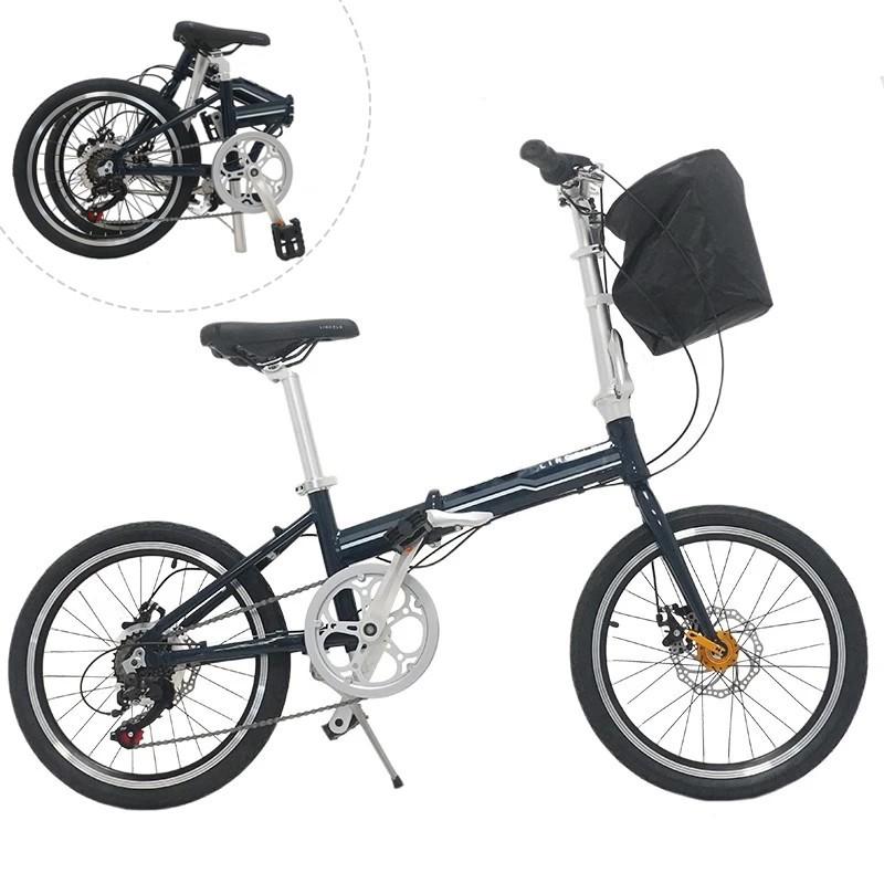 Bicicleta pliabila, roti 20 inch, cadru otel, 7 viteze Shimano, frane pe disc, Phoenix Lincoln, resigilata