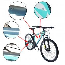 Bicicleta Mountain Bike, roti 29 inch, cadru aluminiu 17 inch, 24 viteze, frane pe disc hidraulice, Phoenix, resigilata
