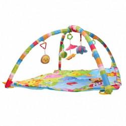 Centru de activitati bebelusi, covoras educational, jucarii interactive