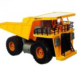 Camion cu telecomanda, faruri LED, basculanta mobila, 32x16 cm
