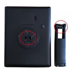 Oglinda cu LED pentru machiaj, buton tactil, 2x si 3x, alimentare USB si baterii, rotire180 grade, resigilata