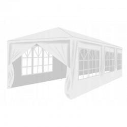 Cort de gradina, 9x3 m, 8 pereti, ferestre, cadru otel, inaltime 2.5 m