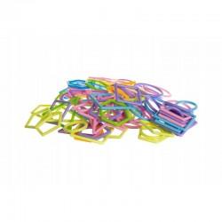 Set constructie 1000 piese, bete si forme, geanta depozitare, multicolor
