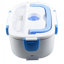 Cutie electrica incalzire pranz, multifunctionala, 2 compartimente, 1 L, lingura