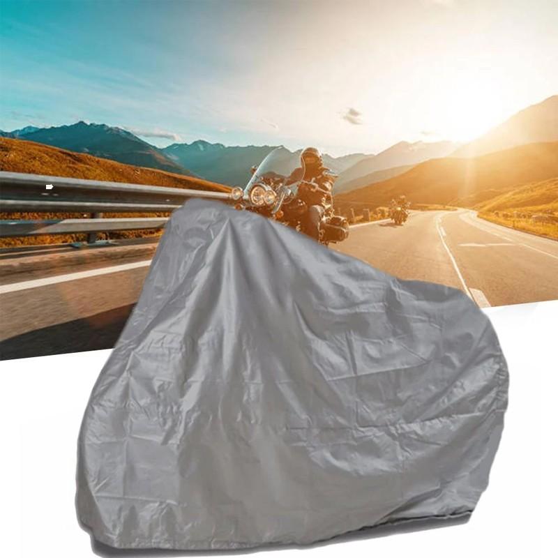 Husa pentru bicicleta, motocicleta, impermeabila, 2.3x1.3 metri, gri