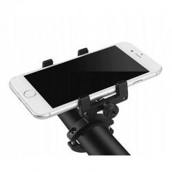 Suport telefon pentru bicicleta, universal, reglabil 50-100 mm, aluminiu
