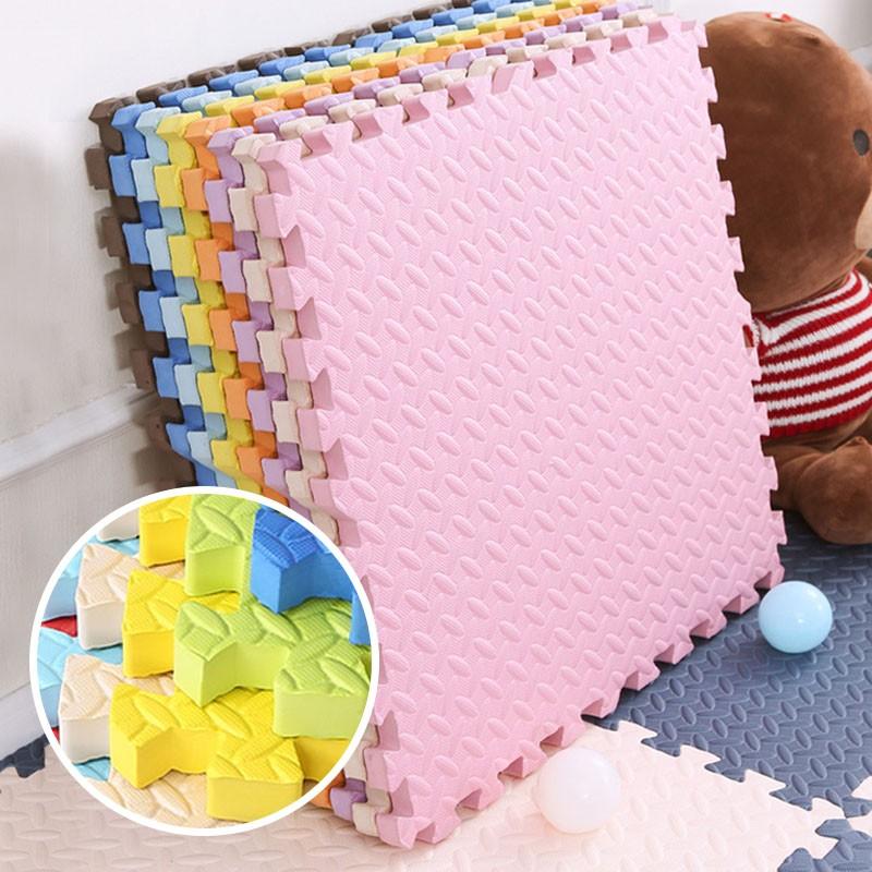 Covoras puzzle XL, 60x60 cm, grosime 2 cm, spuma EVA, 2 piese