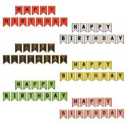 Ghirlanda Happy birthday,...
