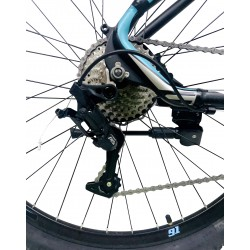 Bicicleta Mountain Bike aluminiu, 27.5 inch, schimbator 27 viteze LTWOO, frane hidraulice pe disc, Genio