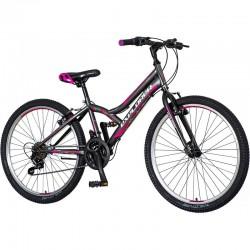 Bicicleta MTB dama, 24...