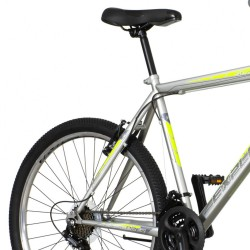 Bicicleta Mountain bike 26 inch, cadru otel, 18 viteze Power, V-brake, gri, Explorer Spark