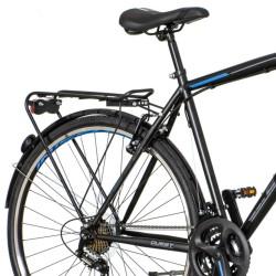 Bicicleta touring 28 inch, cadru otel, V-brake, schimbator Power 21 viteze, portbagaj, Explorer Quest