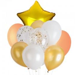 Buchet baloane 10 piese,...