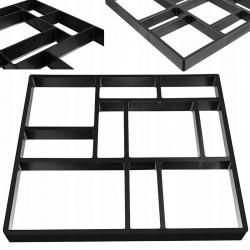 Matrita pavaj tip caramida, forma reutilizabila, utilizare DIY, 44.5x39.5x4 cm