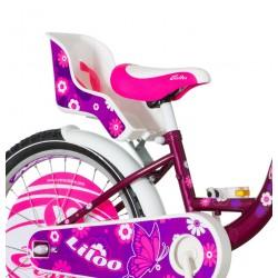 Bicicleta 20 inch, cadru otel, frana V-Brake, scaun de papusi cu centuri, cos, Visitor Liloo